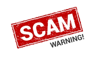 scam warning - blog